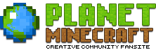 The mod's PlanetMinecraft page
